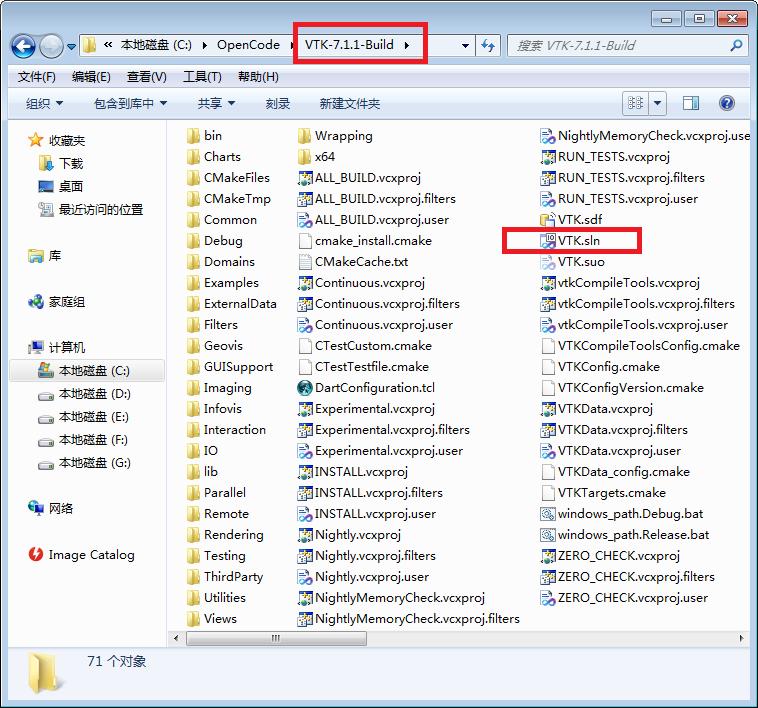 VTK7.1+CMake+VS2010编译-016