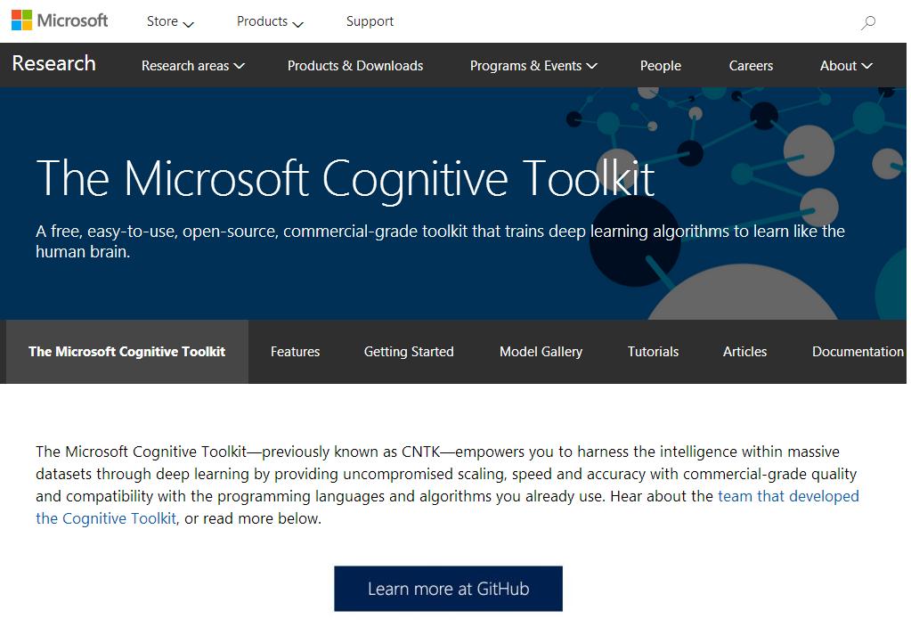 CNTK-微软-人工智能-开源项目